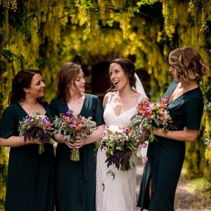 eco wedding flowers cork